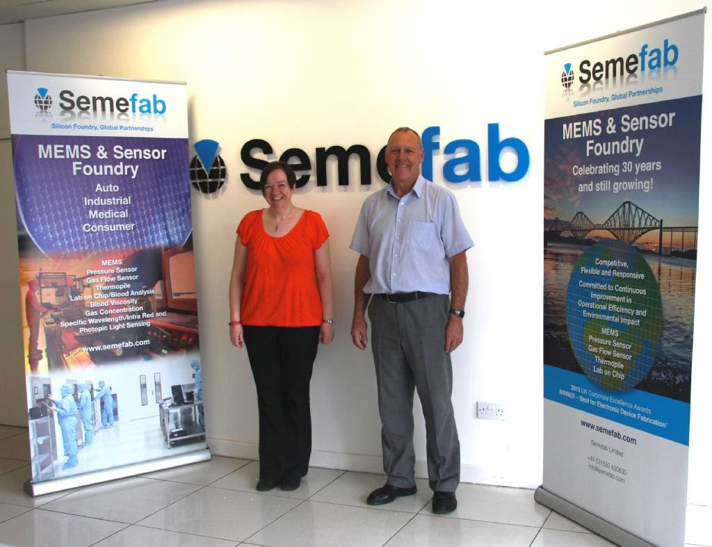 Semefab attend Sensor + Test 2016 Nuremburg
